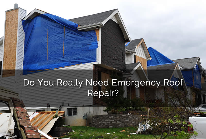 Do You Really Need Emergency Roof Repair