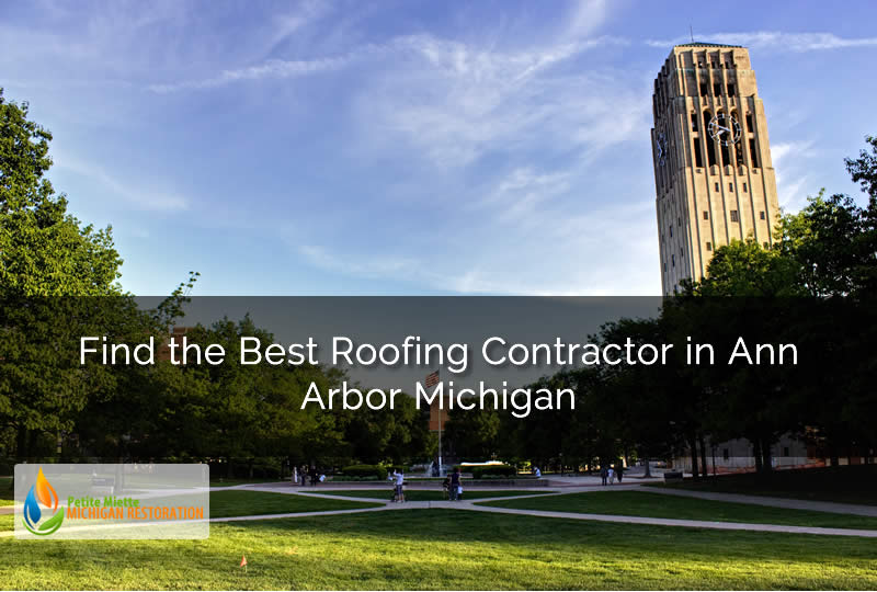 Find the Best Roofing Contractor in Ann Arbor Michigan