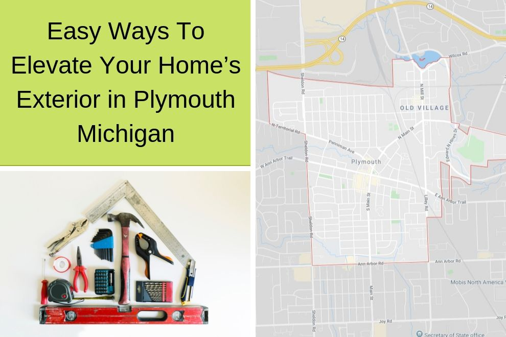 Easy Ways To Elevate Your Home's Exterior in Plymouth Michigan