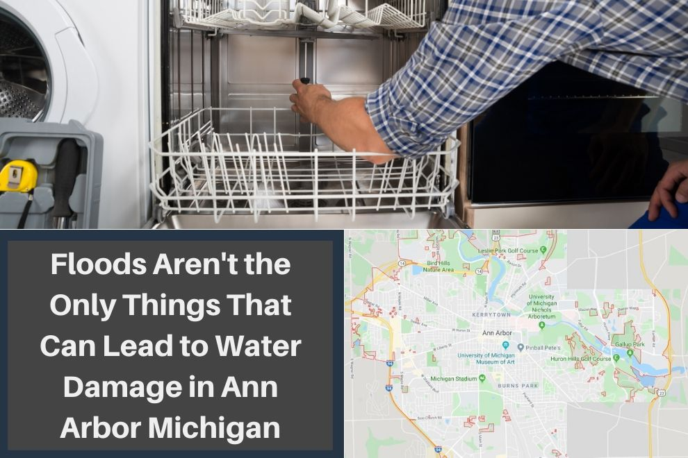 Floods Aren't the Only Things That Can Lead to Water Damage in Ann Arbor Michigan
