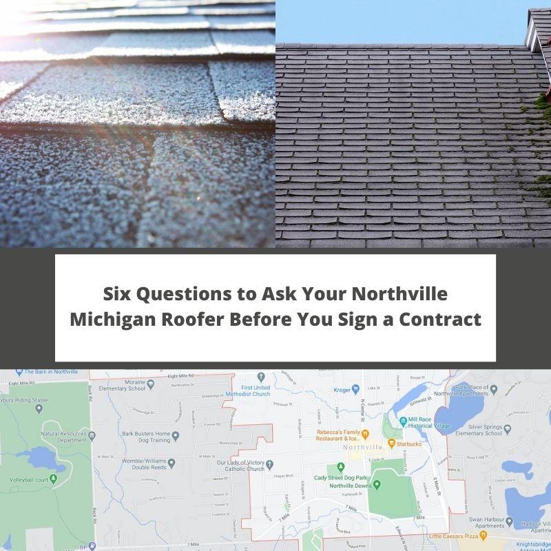 Northville MI Roofer